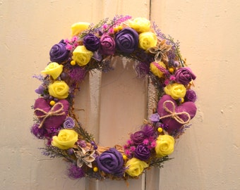 Summer Front Door Wreath /Spring r /Easter  /Autumn   /Mother's Day /Ukrainian Wreath/