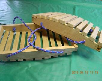 Garden tool basket/gathering basket