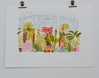 Botanic Gardens Screen Print