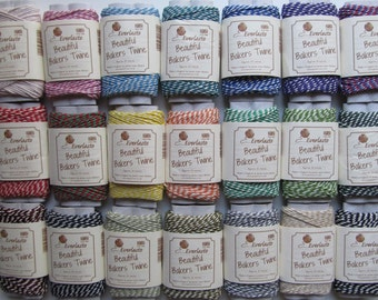 Bakers Twine 20m Spool 100% Cotton