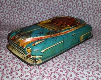 Vintage Hadson Tin Car