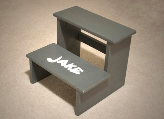 Personalized Step Stool - Full custom design and colors