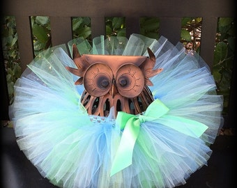 Baby Tutu, Blue and Green Tutu, Toddler Tutu, Cake Smash, Infant Tutu, Newborn Tutu, 1st Birthday Tutu, Birthday Tutu, First Birthday Tutu