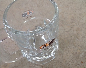 Vintage a&w Glass mug