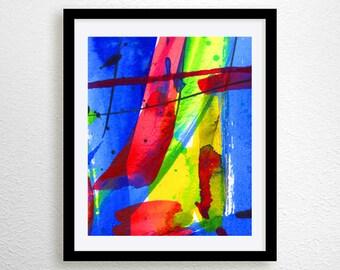 abstract prints, modern art print  (No. 23)