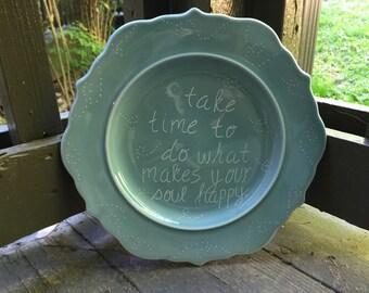 Happy soul plate