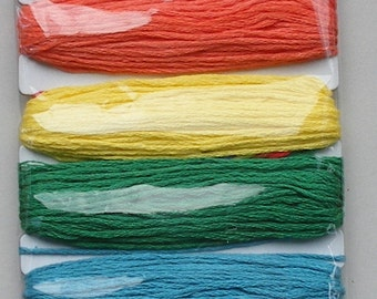 Craft String - 9 metres approx - Bright Colours