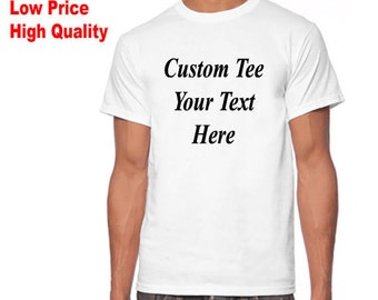 Print your own shirt etsy for Design your own t shirt cheap
