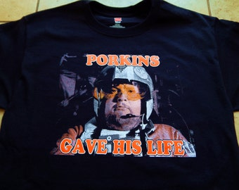 porkins gave his life t-shirt