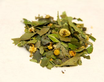 Chamomile Mint Yaupon Tea From Florida (1/2 oz Loose or 10 Teabags)