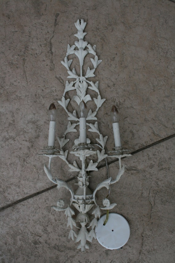 Four shabby chic lights fixtures local pick up by - Shabby chic lighting fixtures ...