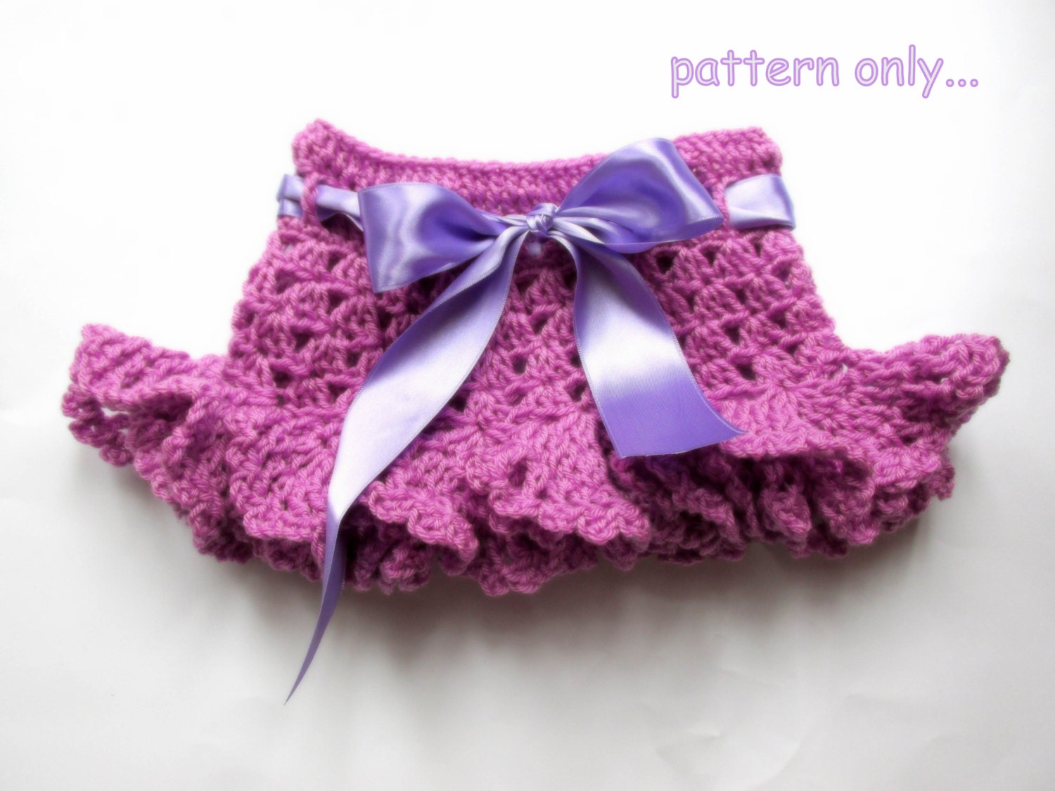Crochet Ruffle Skirt Patterns Free Pakbit For