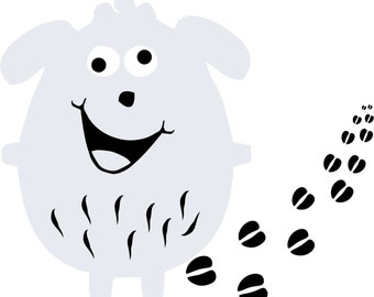 Crazy Sheep wall decal | nursery & kids room decoration