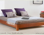 Low Platform Wooden Bed Frame by Get Laid Beds