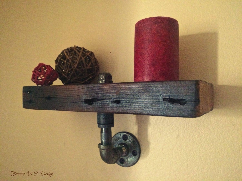 Steampunk Shelf Wall Shelf Wall Decor By Ferreroartdesign