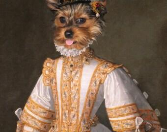 PET PORTRAIT - Custom Dog Portrait, Custom Cat Portrait