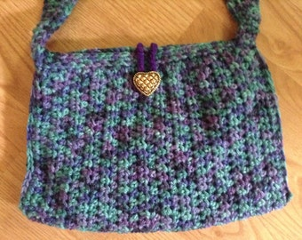 Crochet cross body bag, pocketbook, handbag,,crochet bag