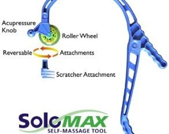 SoloMAX - self massage tool with rolling wheel