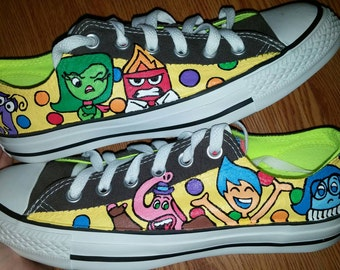 Inside Out Hand Painted Sneakers