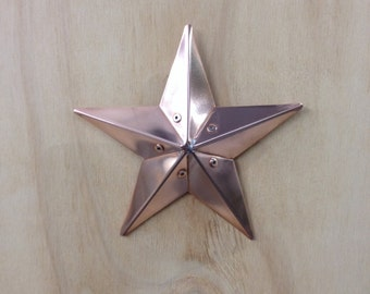"Small 6"" barn star"