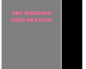Certificate in Pre Wedding Preparation By Presence Institute of Image Consulting