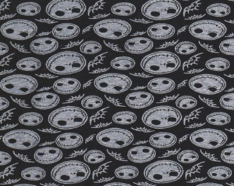 Jack Nightmare Before Christmas Jersey Knit BTY