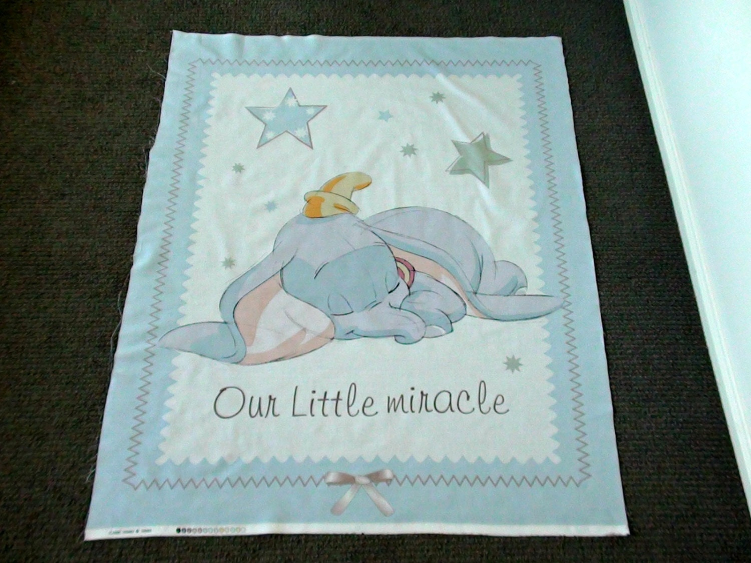 Disney Fabric Panel Baby Nursery Cot Panel Juvenile Fabric