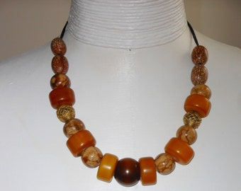 copal amber necklace