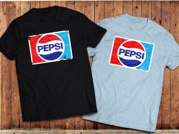 Retro Pepsi T Shirt Various Colours Graphic Vintage By Union9