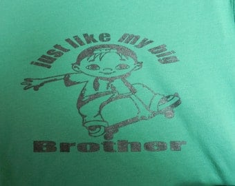 just like my Big Brother youth T-shirt