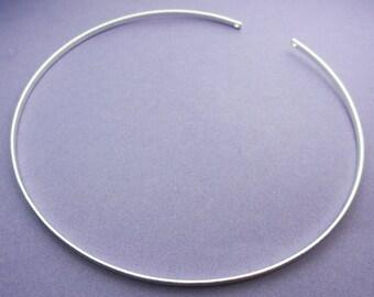 New 115mm Diameter Silver Plate Tiara Frame 1pc