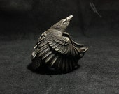 925 Sterling Silver Raven Ring