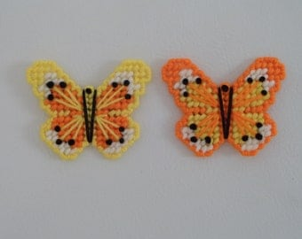 Pretty Pair of Butterflies Magnets