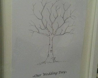 Guest Finger PrintTrees (Alternative to Guest Books)
