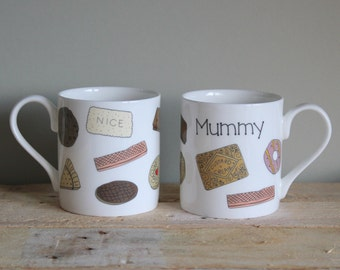 Personalised Biscuit Mugs