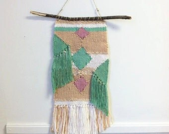 Pastel Woven Wall Hanging