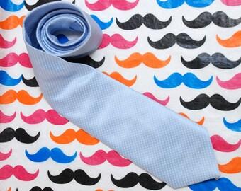 "80"" Vintage dotted BOSS silk tie"