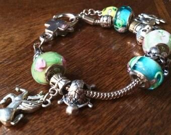 Animal Charm Bracelet