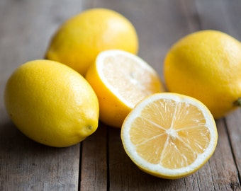 Fresh Certified Organic Meyer Lemons