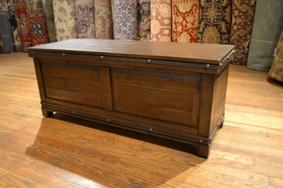 Reclaimed Reclaimed Solid Wood Trunk Or By Reclaimedwoodstore