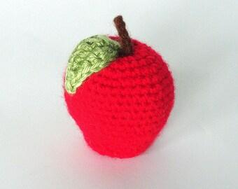 Crochet Apple (Choose Your Colors)