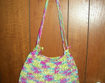 bag to hands fashion knitted 34L 24 cm h