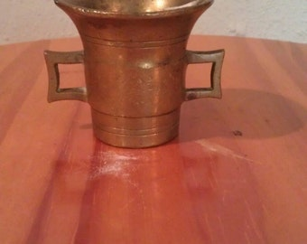 Brass Two Handle Holder Cup
