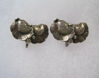Georg Jensen earrings