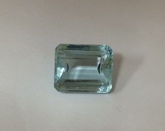 17.17 ct Natural Emerald Cut Aquamarine - Collection #9763