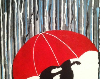 Kissing in the Rain - Made to Order