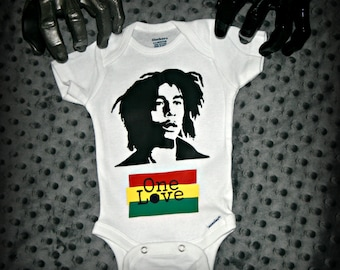 Bob Marley One Love Onesie