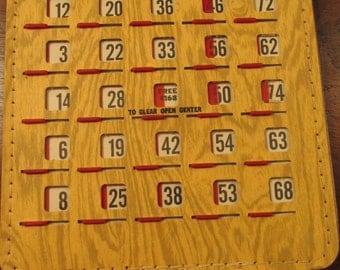 Package of 20 slide bingo cards