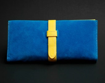 Womens Wallet, Womans Wallet, Leather Wallet, Leather Purse, Blue Wallet, Blue Purse, Blue Leather Wallet, Blue Leather Purse.