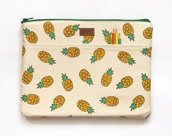 Lenovo Yoga 2 Case,11 Inch Macbook Air Sleeve,11 Inch Macbook Air Case,11 Inch Laptop Sleeve,11 Inch Laptop Case - Tropical Fruit Pineapple
